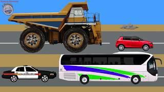 Машинки. Большие и Маленькие машины. Полицейская машина, автобус, самосвал(Машинки. Учим размеры машин. Большой и маленький. https://www.youtube.com/watch?v=HbJ7sYaLOxQ Полицейская машина, легковой..., 2015-04-04T01:22:26.000Z)