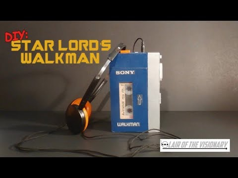 DIY: Star Lord's Walkman (actually plays music) - Lair of the Visionary