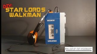 DIY: Star Lord's Walkman (actually plays music) - Lair of the Visionary thumbnail