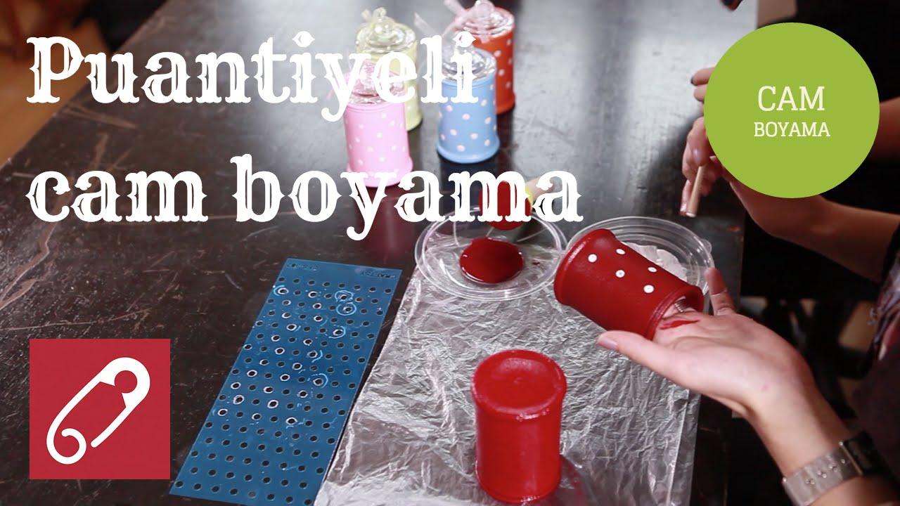 Puantiyeli Cam Boyama Nasıl Yapılır 10marifet Youtube