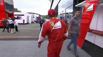 Austria 2015 Kimi Räikkönen kissing girlfriend Minttu Virtanen