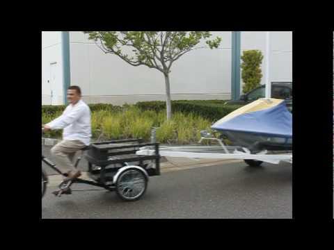 hansa bikes cargo electric bike youtube. Black Bedroom Furniture Sets. Home Design Ideas