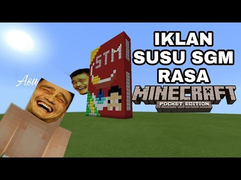 MCPE PARODY INDONESIA | IKLAN SUSU SGM by OTONG AND FRIENDS