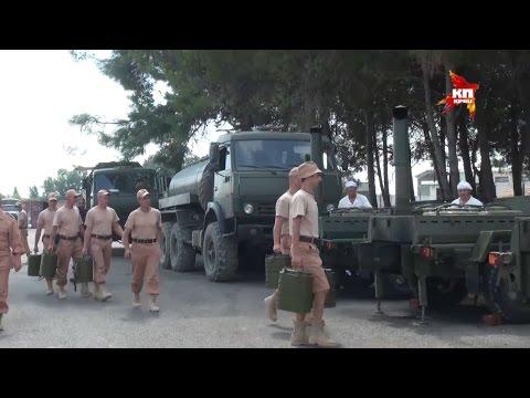 """Спецкоры """"Комсомолки"""" побывали на российской авиабазе в Сирии"""