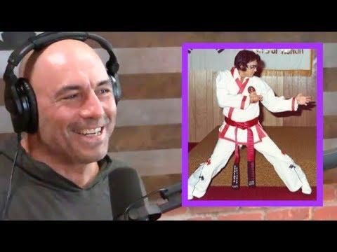 Joe Rogan Reacts to Elvis Doing Karate