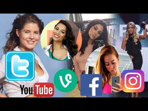Top 10 Hottest Female Youtubers and Former Vine Stars 2017 - Top 10 Hottest Social Media Stars 2017