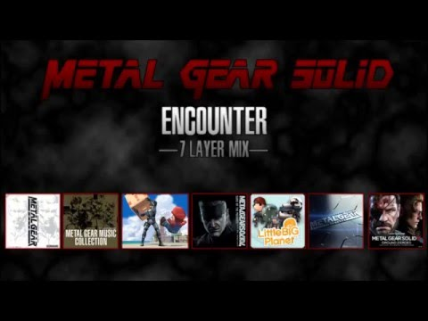 Metal Gear Solid - Encounter -7 Layer Mix- [Legacy Mix, V3]