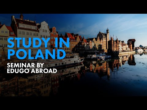 Study in Poland Seminar By Edugo Abroad - Leading Overseas Education Consultancy in Ahmedabad ,India