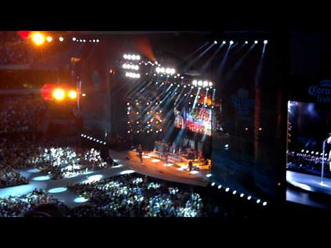 Kenny Chesney Soldier Field 2012 Have Another Beer in Mexico First Song