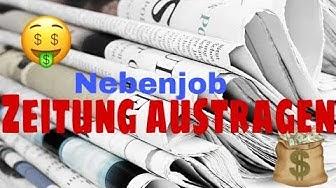 Zeitung Austragen: Wie?, Wie viel Geld? usw.