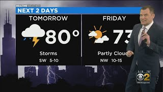 Chicago Weather: Sunshine And Thunderstorms