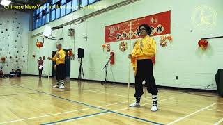 Traditional Shaolin Kung Fu Martial Arts and Qigong Performance at University Settlement