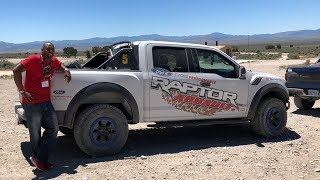 How to Drive a 2018 Ford Raptor F-150 OFF ROAD!!!