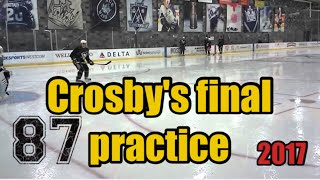 Sidney Crosby's final summer practice ft. Nathan Mackinnon **one handed goal**