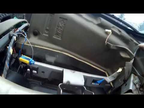 Renault Scenic 2 сломал разъем подушки безопасности пассажира