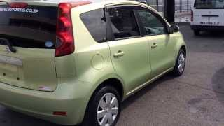 2007 Nissan Note sold to Kenya - Autorec Enterprise, Ltd