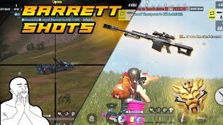 Satisfying Barrett Shots? | Rules of Survival | Mobile Gameplay
