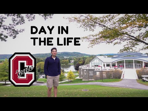 A Day in the Life of a Colgate University Student