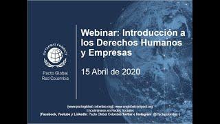 Webinar: Introducción a los Derechos Humanos y Empresas