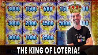 👑 KING OF LOTERIA 🤑 Hunting a HUGE MAJOR on Don Clemente 💰 Agua Caliente Rancho Mirage