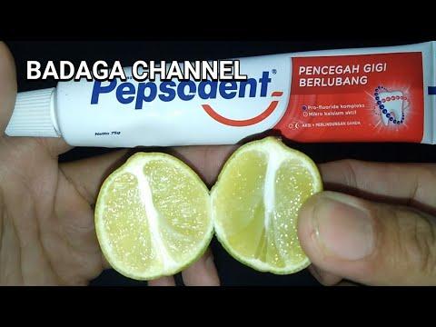 Cara Memutihkan Wajah Dengan Pasta Gigi Dan Jeruk Nipis Youtube
