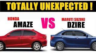 Honda new amaze facelift 2018 vs maruti suzuki dzire | dzire vs amaze | new amaze vs dzire | asy