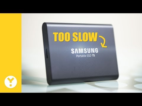 Offloading On The Go with the Samsung T5 SSD