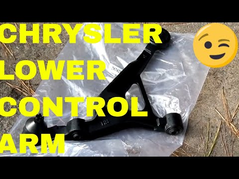 diy-lower-control-arm-and-ball-joint-chrysler-sebring,