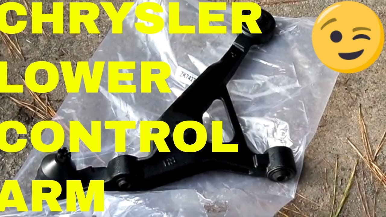 hight resolution of diy lower control arm and ball joint chrysler sebring
