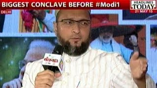 Naqvi Vs. Owaisi On 'Acche Din', Beef Ban At Manthan AajTak