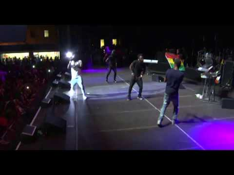 Shatta Wale calls other African artiste FAKE while performing at One Africa Music Fest NY