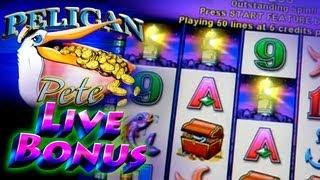 Pelican Pete Live Bonus ReTrigger - 1c Aristocrat Video Slots