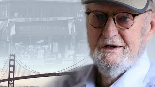 Poet Lawrence Ferlinghetti laments changing San Francisco
