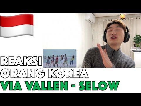 Orang Korea Reaksi Via Vallen - Selow (Official Music Video) Reaction