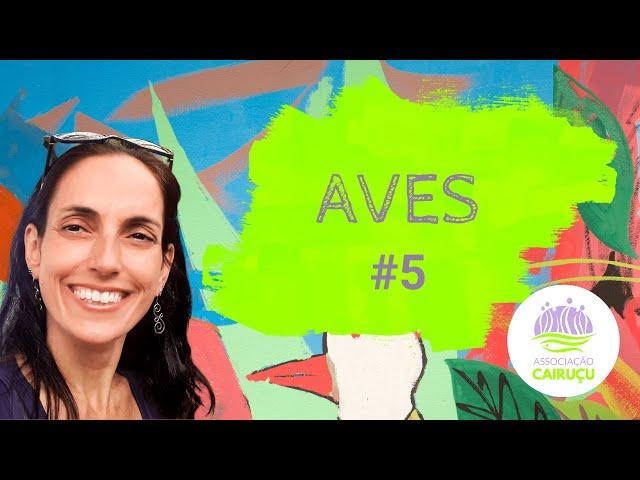 AVES #5: Sono, banho e ingestão de água