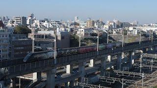 E3系・現美新幹線の団体臨時列車が新潟~上野~仙台を運行