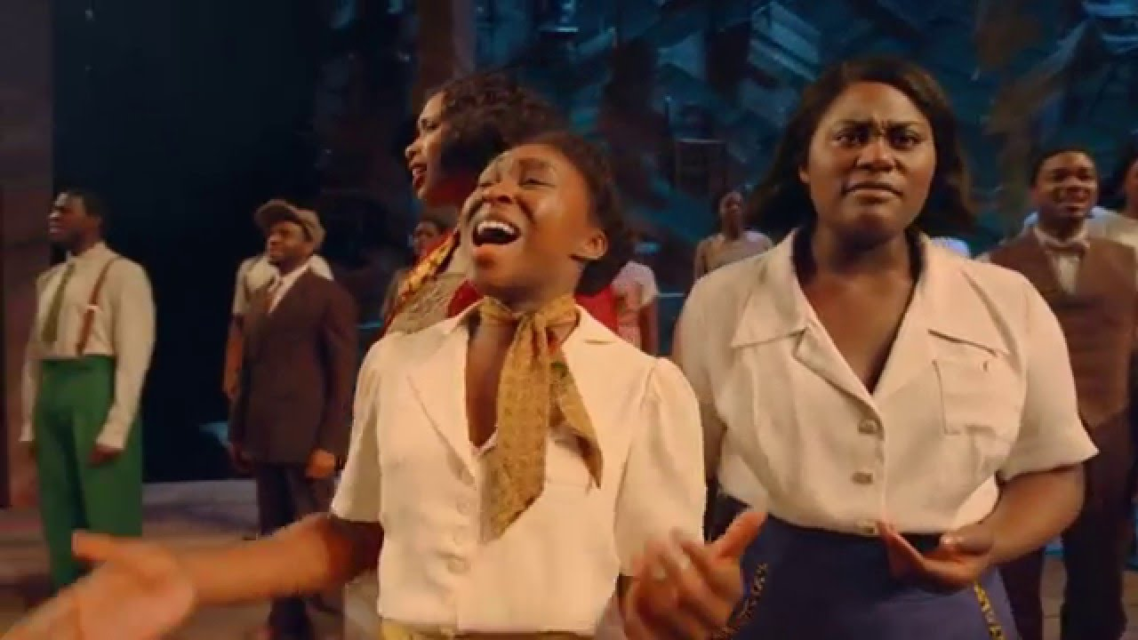 Now On Broadway The Color Purple On Broadway Youtube