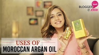 How To Use Moroccan Argan Oil In 6 Ways Ft. Myhappinesz + GIVEAWAY(CLOSED) | Nykaa