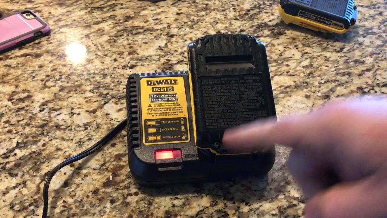 Dewalt 18v Lithium Ion Battery Wont Charge