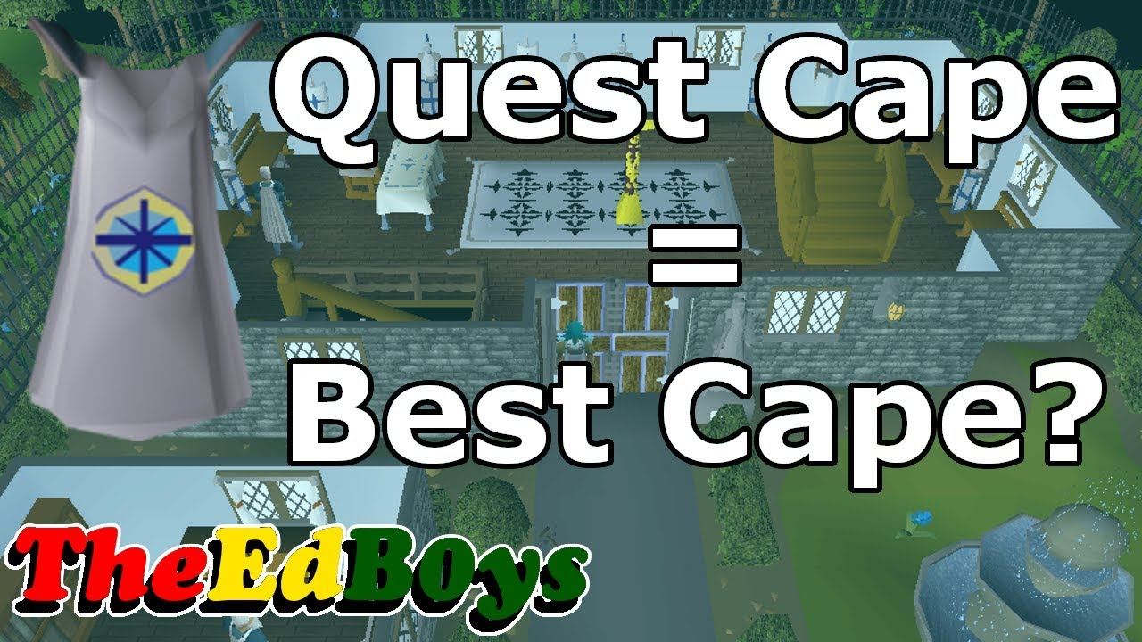 Quest Cape Best Cape Osrs Youtube 1yr · osrs_shiba · r/ironscape. quest cape best cape osrs
