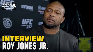 Former four-division world boxing champion roy jones jr. joins mma fighting's mike heck to discuss his eight-round exhibition fight with tyson se...