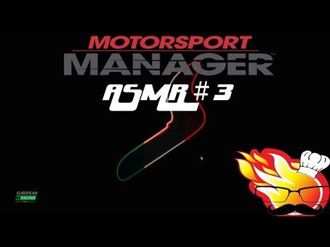 Motorsport Manager ASMR #3: Close, Soft Spoken, Mouth Sounds (Bad Calls)