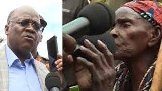Alichokifanya JPM Kwa Bibi Huyu Leo Hadharani