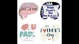 Happy Father's Day // New Whatsapp Status Video 2018 //