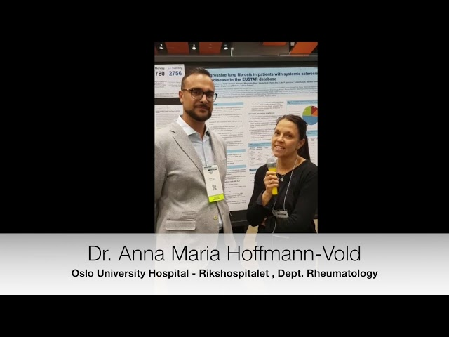 Dr. Anna Hoffmann-Vold interviewed on progressive lung fibrosis in SSc. EUSTAR Database