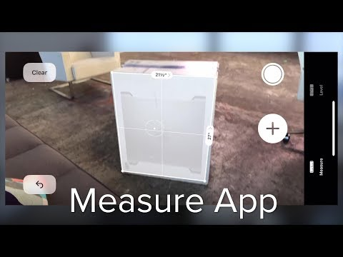 Using Apple's Measure App
