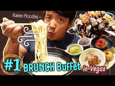 #1 Vegas BRUNCH Buffet, BEST Ramen Noodles & TACO TRUCK In Los Angeles