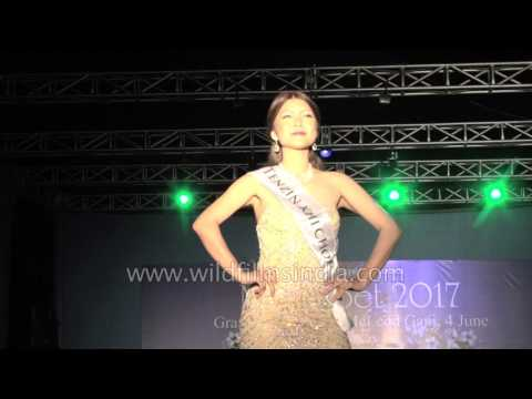 Miss Tibet 2017 - Evening Gown, Final Round