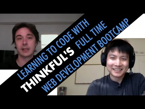 Interview with Thinkful Full Time Bootcamp students Simon and Sean