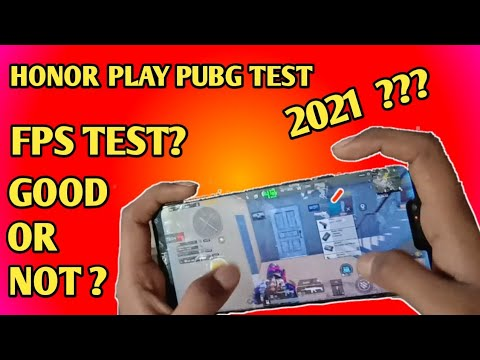 Honor Play Fps Test | Heat Test | Honor Play Pubg Test High Graphics Settings After All Update 2021